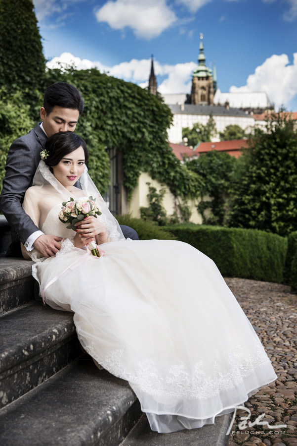 prague pre wedding